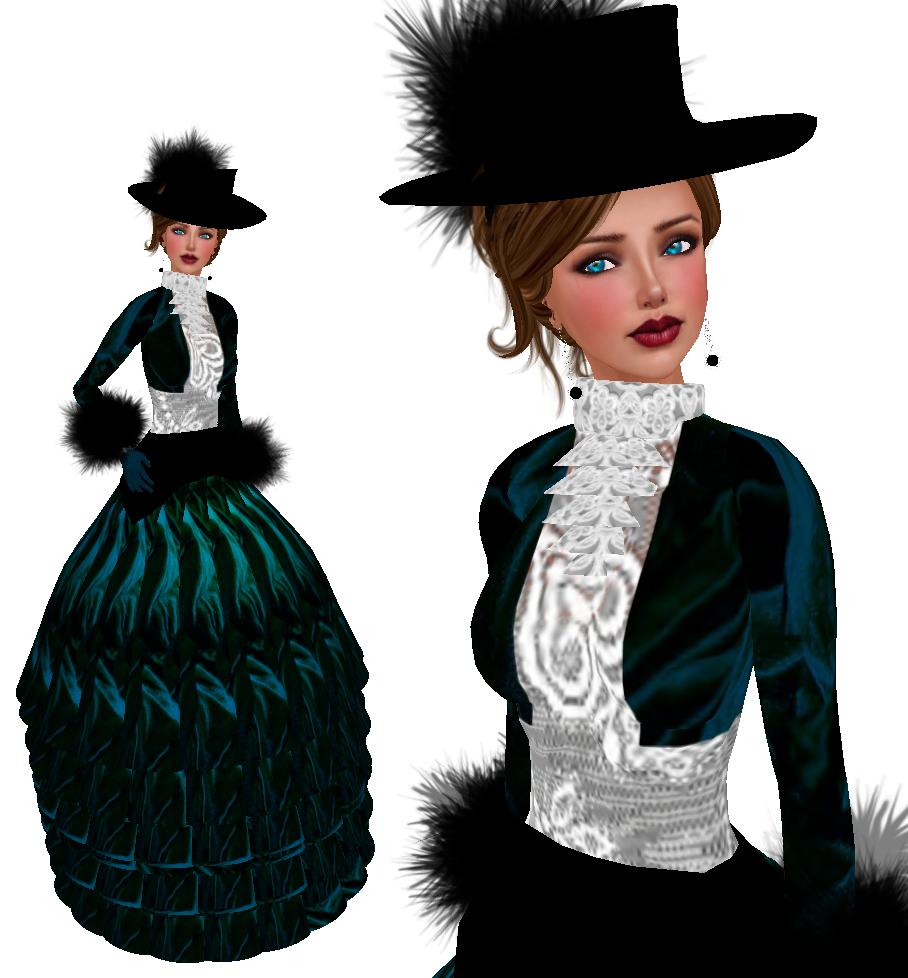 Blue Velvet Victorian