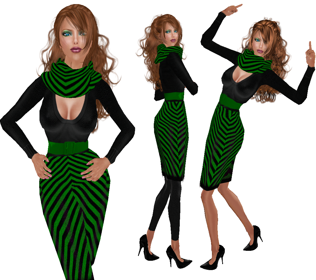Avacado Dress