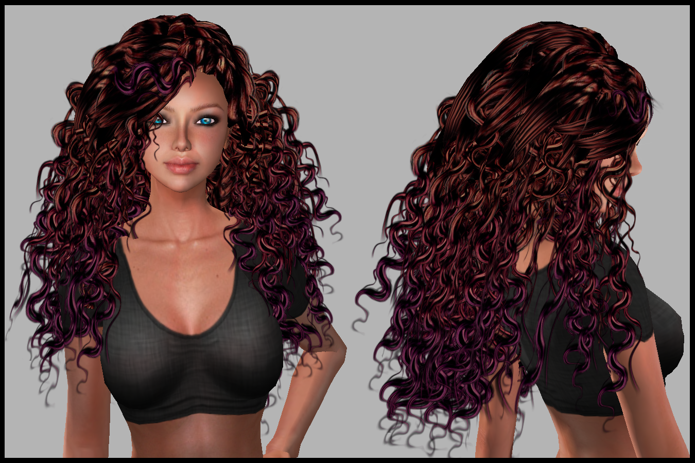 The Gallery For Gt Dark Mahogany Chestnut Hair Color