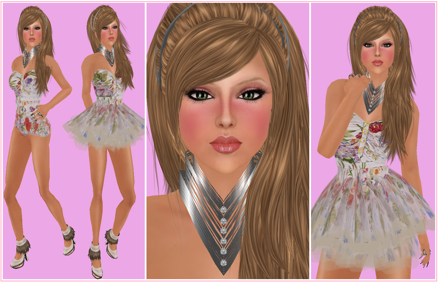 Jewelry, Simply, b.nuts & Pretty Stick Plus New Skin from Freckles title=