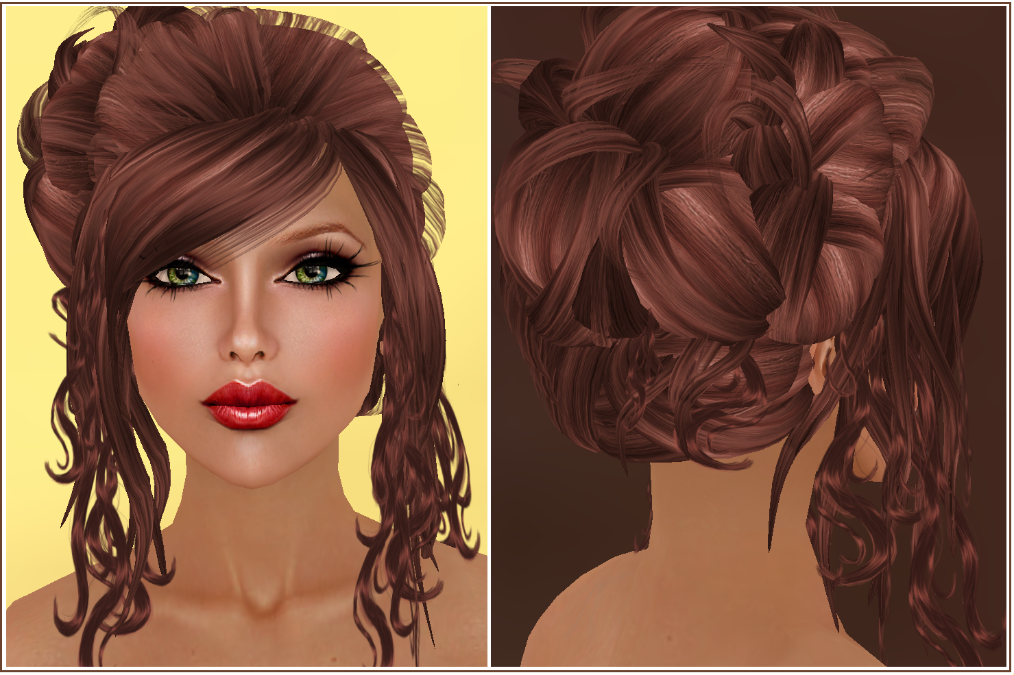 Displaying Images For - Brown Cinnamon Hair Color...