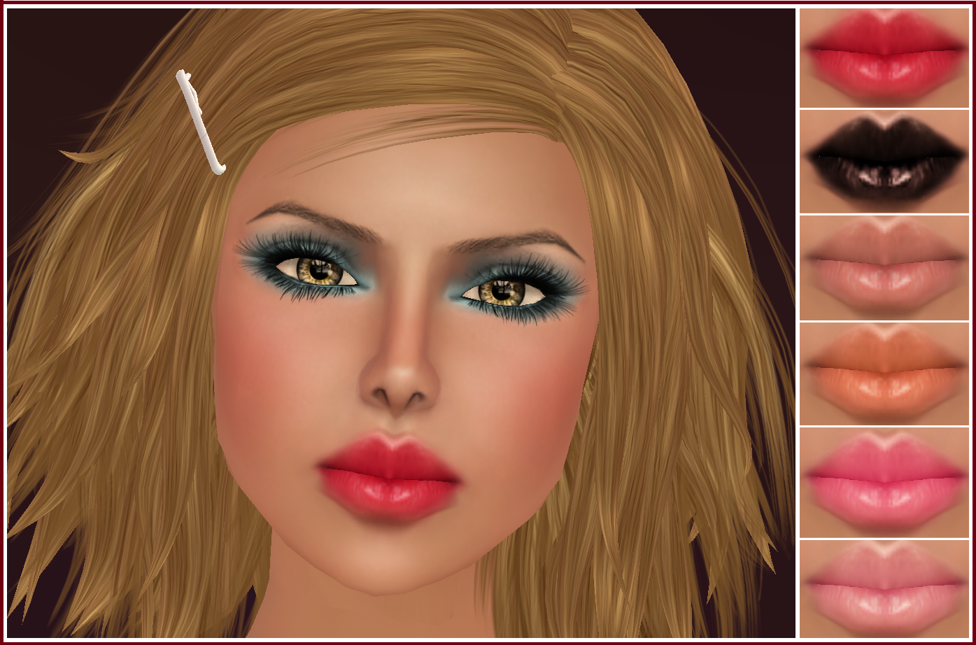 wearing Juicy , the beautiful new face from CandyDoll !