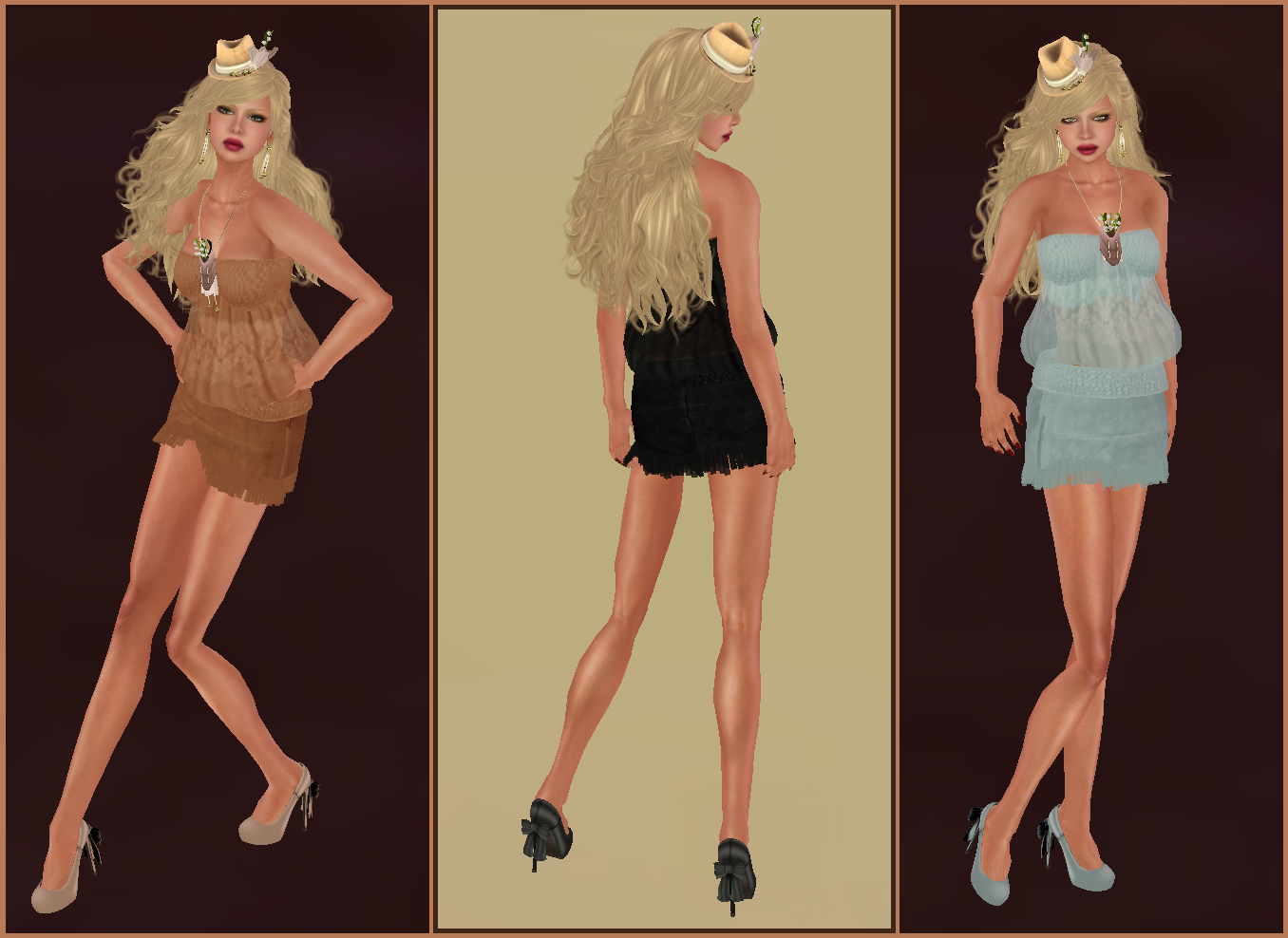 My style in second life new mimikri hot couture for Hot couture fashion