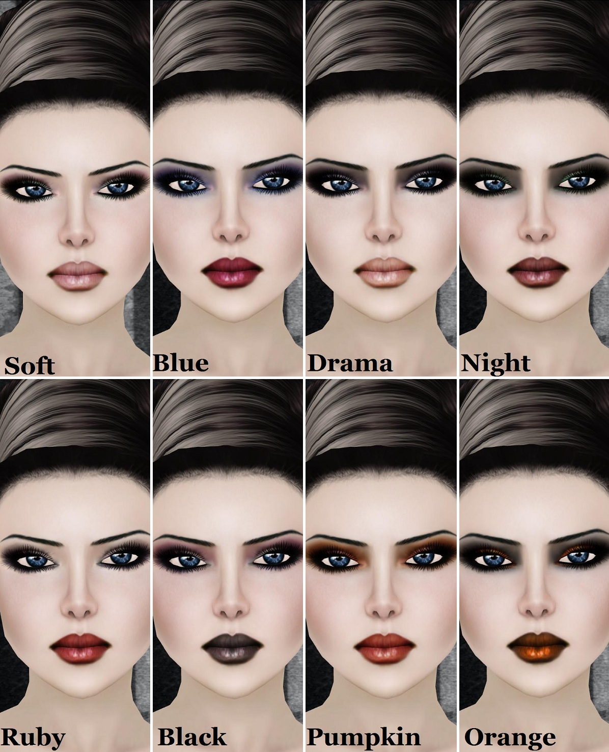 1000 ideas about pastel goth makeup on pinterest nu goth makeup -  Pastel Goth Goth Makeup Tutorial For Mugeek Vidalondon Gothic Sultry Makeup Ideas