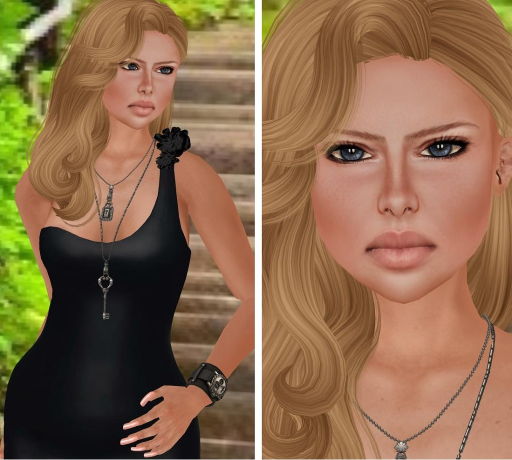 AMD Exie, Mandala Jewelry, IrEn's OLGA & Wasabi Pills Hair2